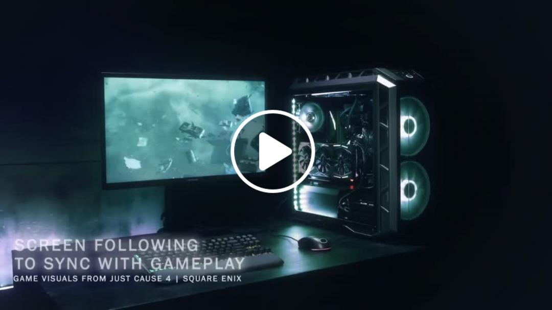 ViewSonic Elite XG240R – Cooler Master Teaser