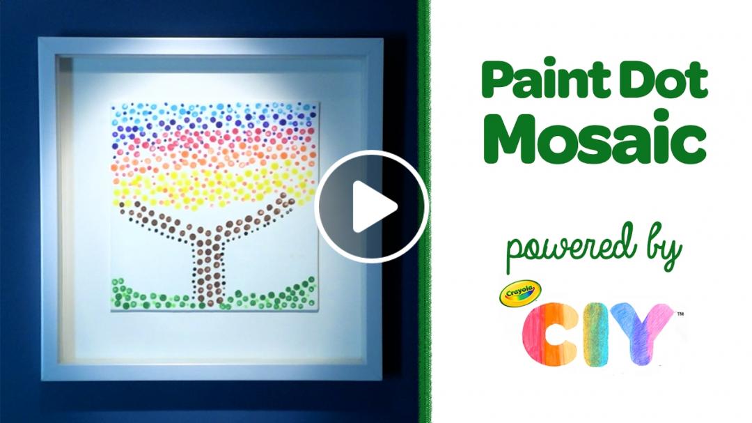 Crayola CIY: Create It Yourself - Paint Dot Mosaic
