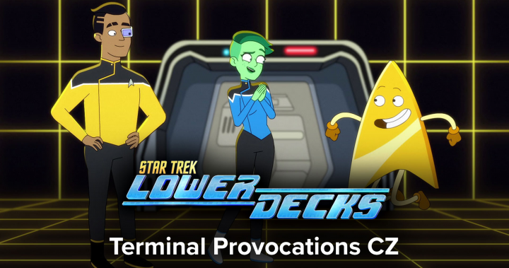 Star Trek - Lower Decks - 1x06 - Terminal Provocations CZ