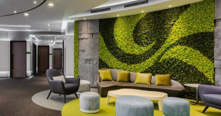 【簡兆芝室內設計 簡兆芝】種下一片綠意 讓商業大廈茂現生命枝枒 OPEN Design