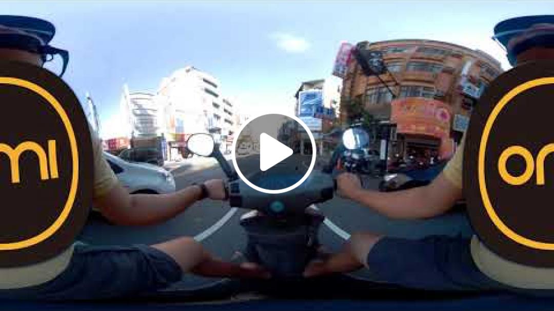 OmiCam 騎機車超強穩定度