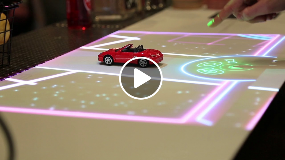Free the screen. Enter the dream. Lampix tabletop AR is here.