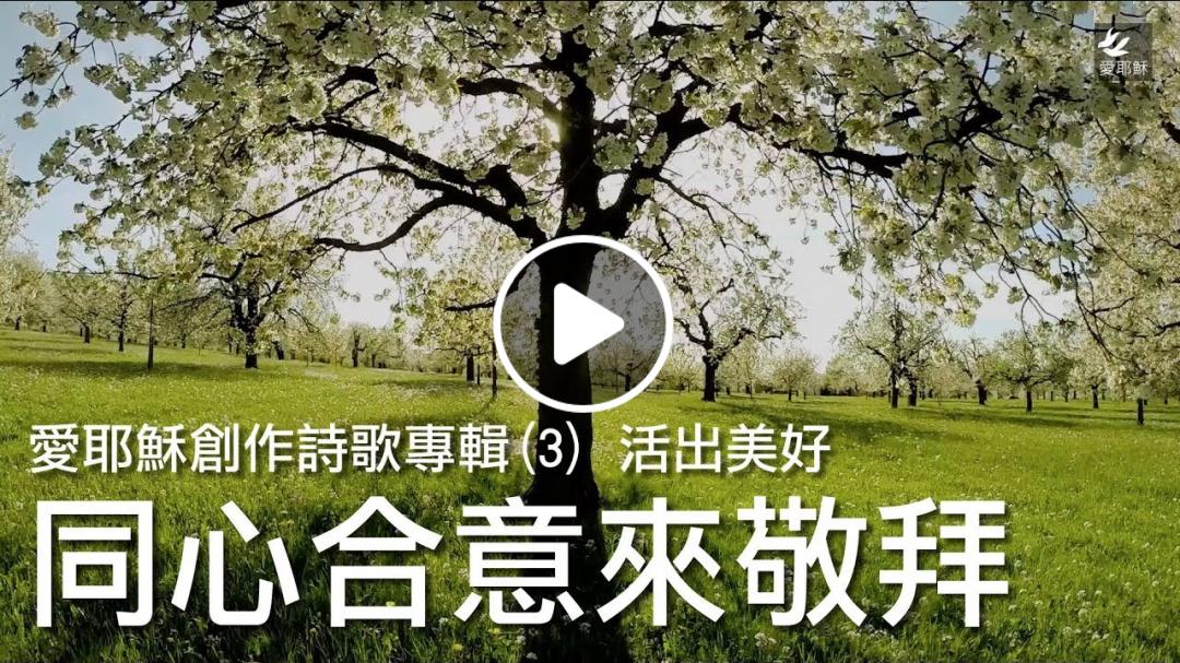 同心合意來敬拜 - 愛耶穌創作詩歌專輯(3) 活出美好