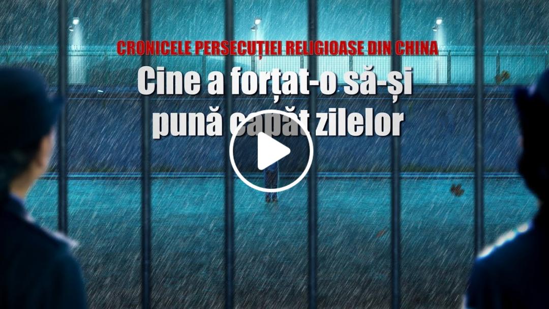 video crestin Cronicele persecuției religioase din China 
