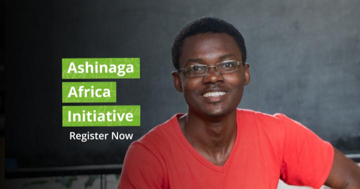 Ashinaga Africa Initiative 2020 - Register Now