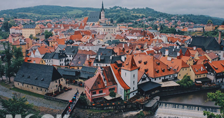 歐洲最美童話小鎮!可愛迷人庫倫洛夫