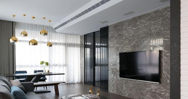 【艾立思國際家飾】以精妙的家具設計巧思 塑造舒適河景美宅 OPEN Design